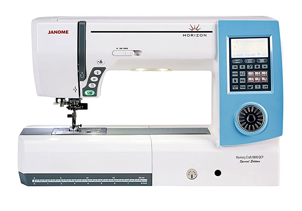 Janome Memory Craft 8900QCP Special Edition
