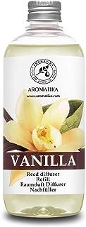 Recharge pour Diffuseur de Vanille 500ml - Diffuseur Parfum Maison - Recharge de Diffuseur de Vanille Parfumée - Parfum Fr...
