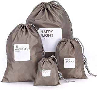 Travel Storage Bag Waterproof Nylon Drawstring Pouch Men and Women Folding Clothes Classified Organizers