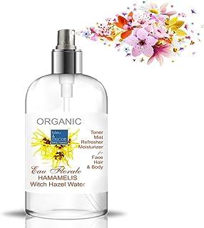 Hidrolato de Hamamelis - Olmo Escocés 500 ml Agua Floral - Tónico para Piel Grasa Piel con Imperfecciones Piel Normal Piel...