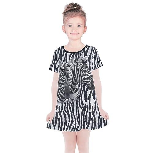PattyCandy Girls Fun Zoo Animals Sleeveless Dress 6b0734c69