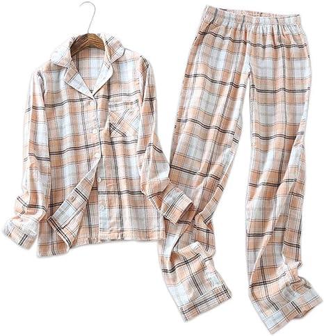 HIUGHJ Gran Pijama de algodón Cepillado de Alemania de Talla ...