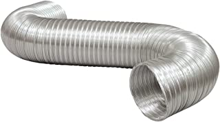 1 - A038/16 Semi-Rigid Aluminum Duct, 8ft, Semi-rigid but flexible for easy installation, Fire resistant, A038/16-A by Def...