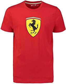 Ferrari Red Classic Shield Tee Shirt