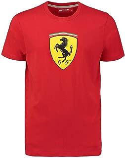 Ferrari Red Classic Shield Tee Shirt