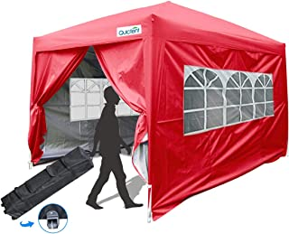 Best red pop up gazebo Reviews