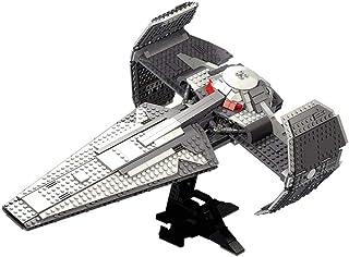 1195 PCS Building Block UCS-Class Sith Infiltrator Spacecraft, Puzzle Toy Technic Super Racing RC Car Kit, Model Building ...