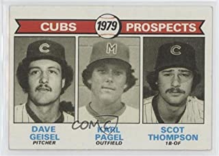 Dave Geisel; Karl Pagel; Scot Thompson (Baseball Card) 1979 Topps - [Base] #716