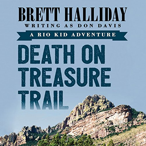 Death on Treasure Trail audiobook cover art
