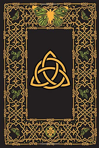 Celtic Knot Journal: Blank lined paper journal notebook diary to write in
