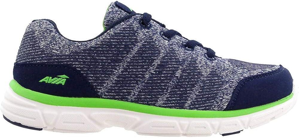 Avia Kid's Avi-Rift Boys Running Shoes Blue/Green/White 10 Little Kid