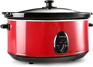 Klarstein Bristol 65 – Slow Cooker, Schongarer, Schmor-Kochtopf, 6,5 Liter,..