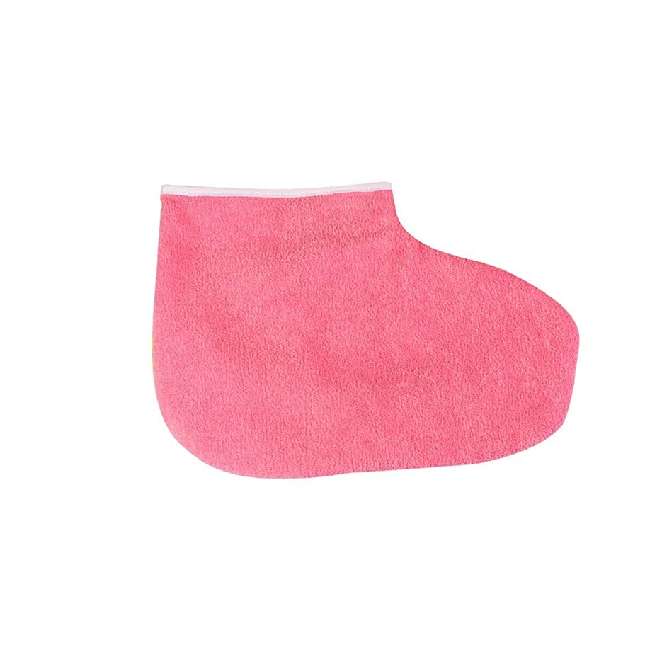 サンダースお互いパテIntercorey 1ペアパラフィンワックス保護フットマスク手袋足肌保湿スリーブ美白角質除去ソックス