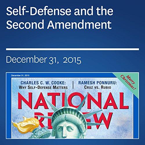 Self-Defense and the Second Amendment audiobook cover art