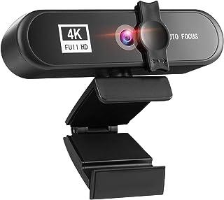 غطاء كاميرا الويب 4K 2K 1080P Full HD Webcam USB3.0 Autofocus Webcam PC Computer, Used For Live Video Call Conference Work...