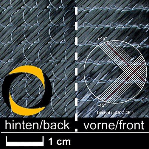 Ascending Composites Kohlegelege 268 g m2 (biaxial) 127 cm 10 m