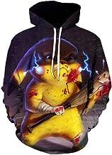 Unisex 3D Hoodies,HD Digital Cute Elves Patterned Sweatshirt for Teens,Cartoon Printed Pullover Jumpers with Pocket(S-6XL)