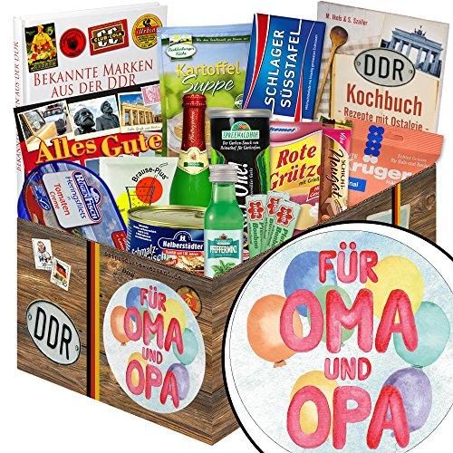 Für Oma & Opa + Spezialitäten DDR Box + Geschenke für Geburtstag
