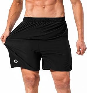 NAVISKIN Pantalones Cortos para Hombres Shorts Deportivos Atléticos de Deporte Chandal Fitness Running Correr Entrenamient...