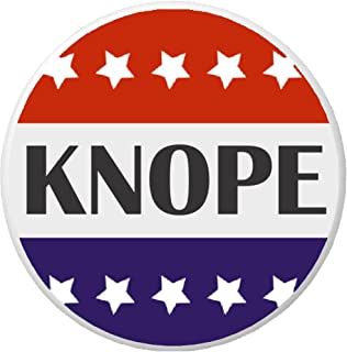 Knope Red White Blue Stars Pinback Button Pin President