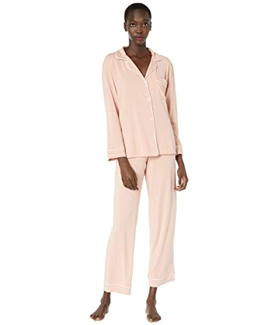 Eberjey Gisele Basics PJ Set (Misty Rose/Ivory) Women