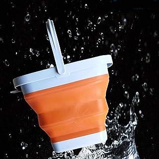Bassine Seau Pliable 3l / 5l Seau Pliant Portable Pliant Seau Pliable Pliable Lavage De Voiture en Plein Air Télescopique ...