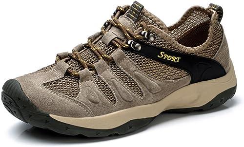 DSFGHE Hommes Trainers Décontracté Maille Chaussures Léger Séchage Rapide Sport Sandales Escalade Randonnée paniers