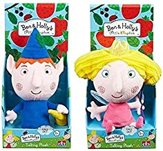 Character Options Ben & Holly's Little Kingdom 18cm Talking Soft Plush Toys