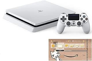 PlayStation 4 グレイシャー・ホワイト 500GB (CUH-2200AB02) 【特典】オリジナルカスタムテーマ (配信)
