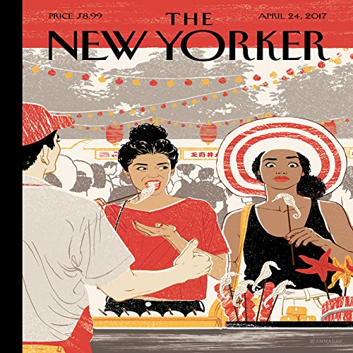 The New Yorker, April 24th 2017 (Jelani Cobb, Daniel Mendelsohn, Lizzie Widdicombe) cover art