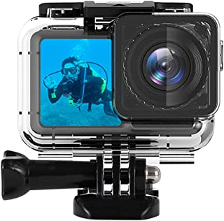 Waterproof Housing Case for DJI OSMO Action Camera, Underwater Diving Protective Case for OSMO Sports Cam, with Buckle Bas...