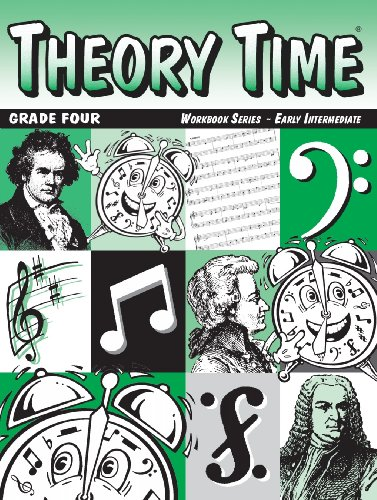 Theory Time: Workbook Series - Grade Four Early Intermediate