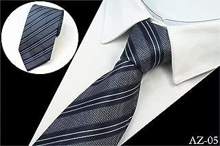 Silk Men Tie 8cm Striped Classic Business Neck Tie For Men Suit For Wedding Party Necktie Factory Sale