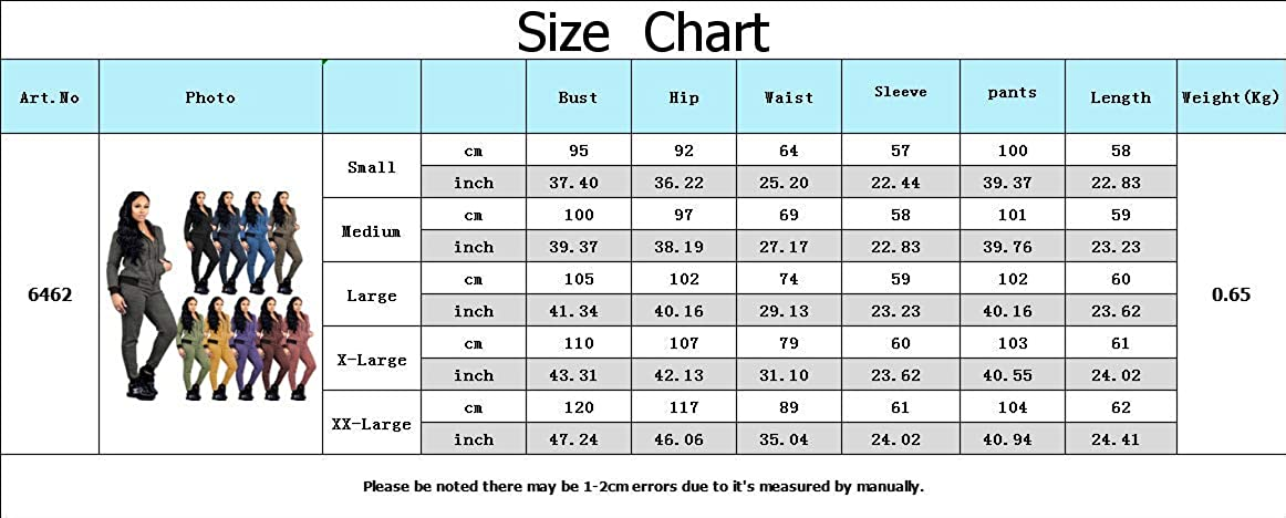 PINSV Women 2 Piece Jogging Outfits Joggers Hoodies Sweatsuits Sets Winter Workout Track Suits