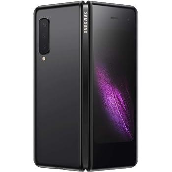 Samsung Galaxy Fold SM-F900 Single Sim 512GB 12GB RAM GSM Only, No CDMA - International Version (Cosmos Black) (Renewed)