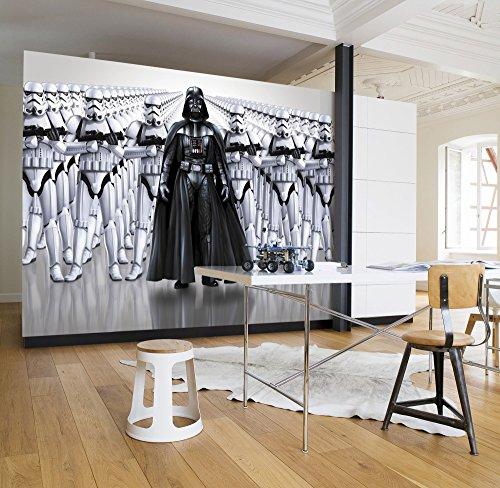 Komar - Fototapete STAR WARS IMPERIAL FORCE - 368 x 254 cm - Tapete, Wand, Dekoration, Wandbelag, Wandbild, Wanddeko, Darth Vader, Sturmtruppen - 8-490