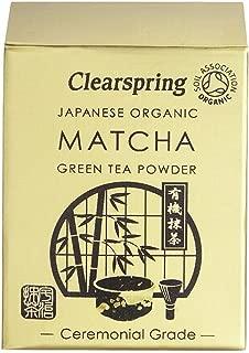 (10 PACK) - Clearspring Matcha Green Tea Powder (Ceremonial Grade)  30 g  10 PACK - SUPER SAVER - SAVE MONEY
