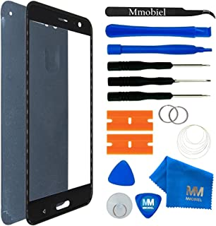 MMOBIEL Front Glass Replacement Compatible with HTC U11 / U11 Dual - 5.5 Inch(Black) Display Touchscreen incl. Tool Kit