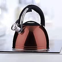 color negro KitchenCraft KCLXKETBLK Hervidor de silbato