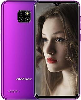 Ulefone Note 7 (2019新品) SIMフリースマートフォン Android 8.1 6.1インチ画面 アスペクト比19.2:9 背面8MP+2MP+2MPトリプルカメラ 5MPフロントカメラ デュアルsim(nano/micro...