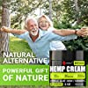 Natural Hemp Cream for Muscles, Joints, Back, Knees, Neck, F... #3