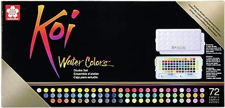 Sakura Studio Set Koi Watercolor Kit, 72 colors, Assorted