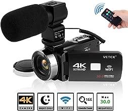 Best vetek 4k camcorder Reviews