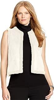 RALPH LAUREN Plus Size Women's Lauren Faux Shearling Vest