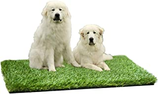 "MTBRO Artificial Grass, Perfect Outdoor Grass Mat for Dogs, Realistic Artificial Turf Rug for Patio, Blade Height 1.5"",100oz/sq.yd,3 ft X 5 ft"