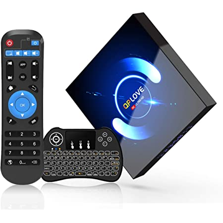 HDMI 2.0 Support 100M LAN 4K 3D//H.265 Android Box USBNOVEL Android TV Box,Upgrade10.0 4GB RAM 32GB ROM Smart TV Box,Quad Core 64 Bits//Dual WiFi 2.4//5GHz WiFi Bluetooth4.0