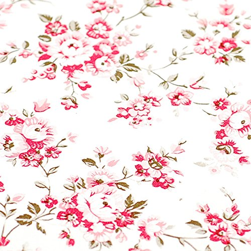 Decorative Floral Contact Paper Self Adhesive Drawer Shelf Liner Removable Peel and Stick Wallpaper for Shelves Drawer Furniture Wall Decoration 17.7 inch By 16 Feet