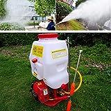 Pulverizador mochila 20L Pulverizador a presión Fertilizante Pulverizador Jardín pulverizador Rociador de maleza agrícola