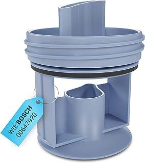 Filtre à peluches de rechange pour machine à laver Bosch 00647920 Accessoires pour sèche-linge Pompe de vidange pour machi...