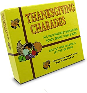 Best charades for thanksgiving Reviews
